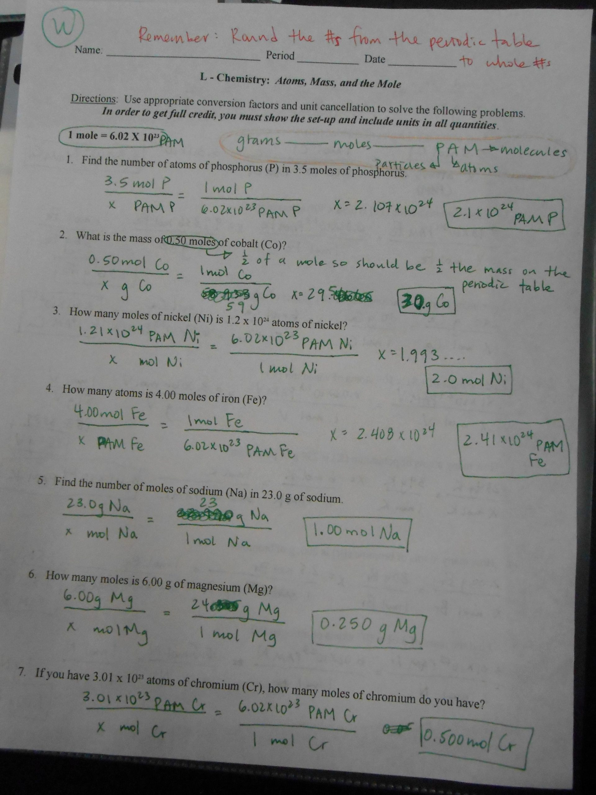 50 Nuclear Chemistry Worksheet Answer Key in 2020