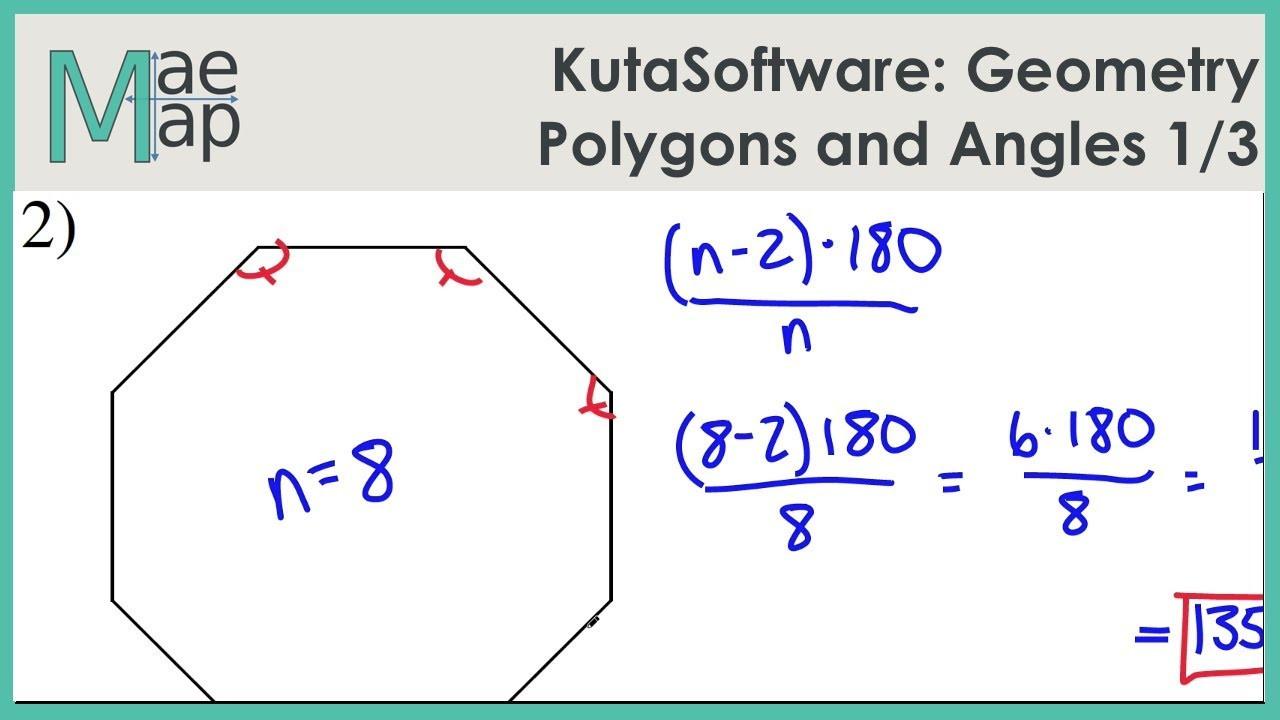 Polygon and Angles Worksheet