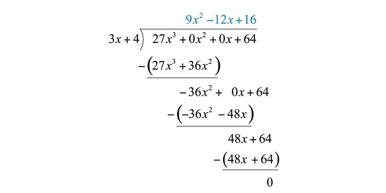 Polynomial Long Division Worksheet
