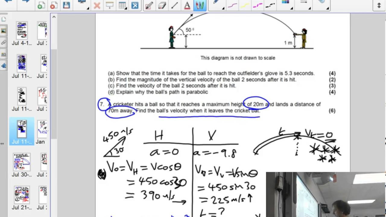30 Projectile Motion Worksheet Answers   Education Template