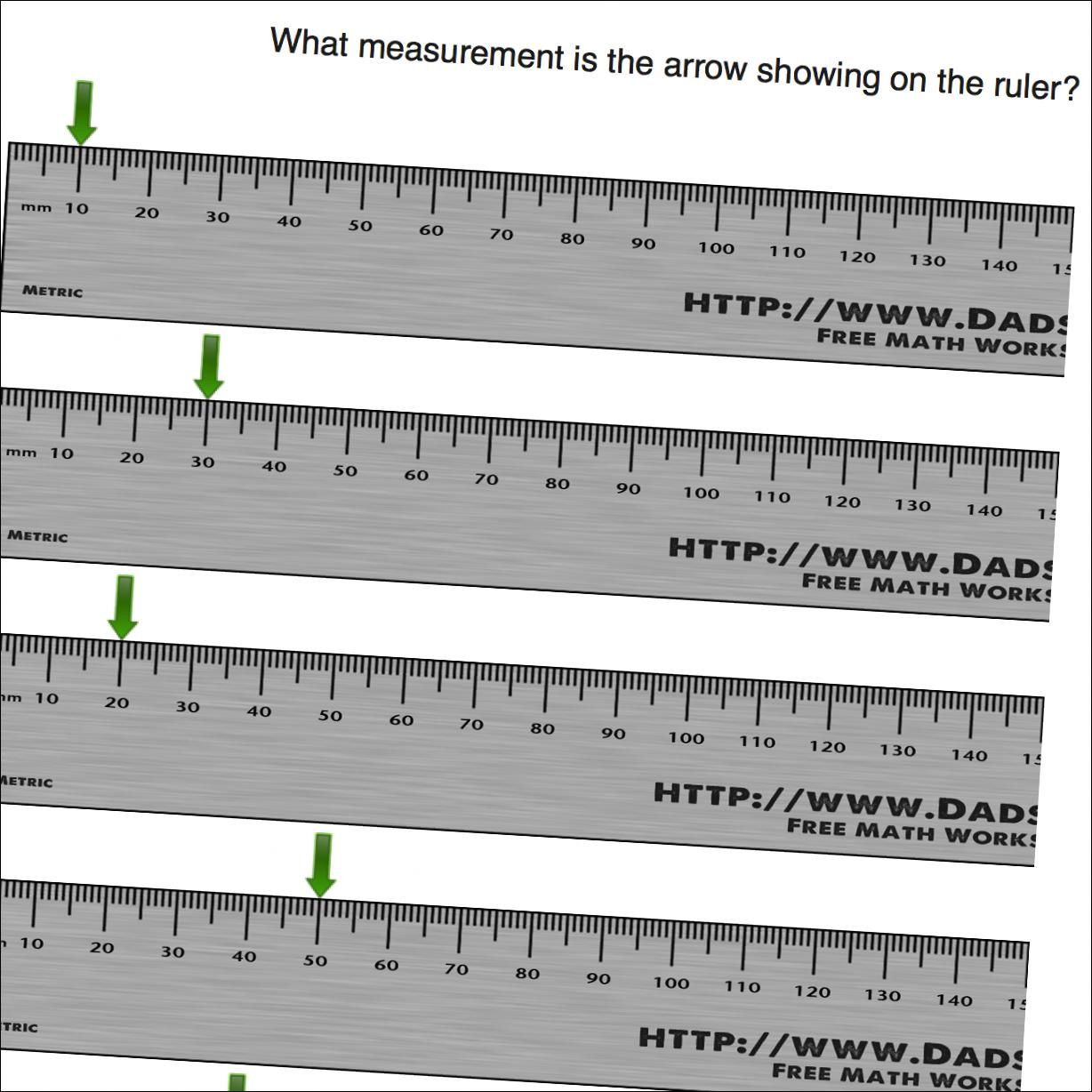 30 Reading A Metric Ruler Worksheet | Education Template