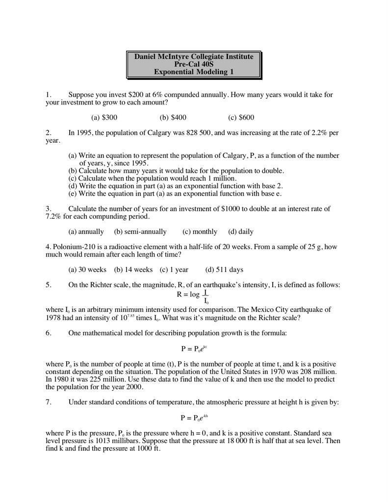 Science 8 Density Calculations Worksheet