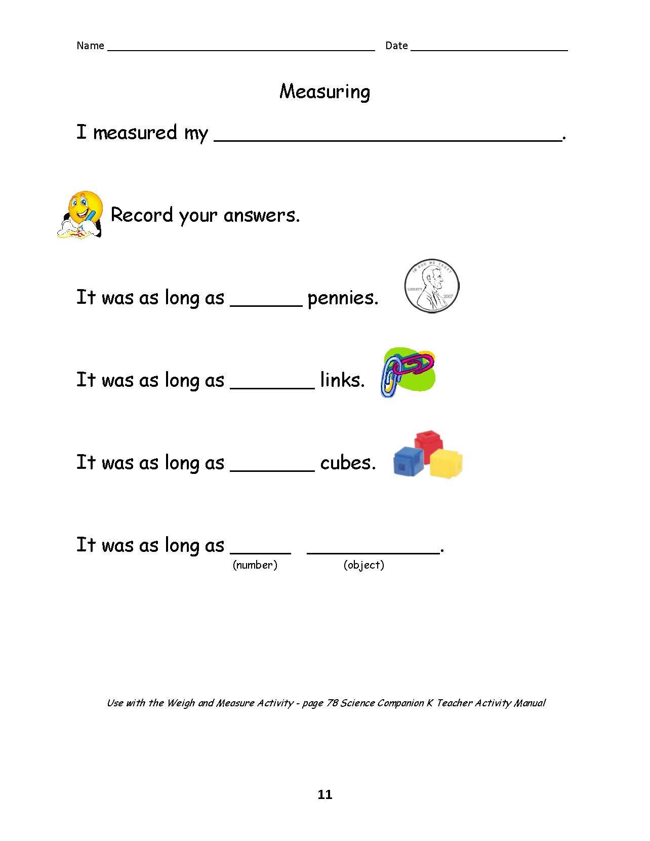 Scientific Method Worksheet Elementary