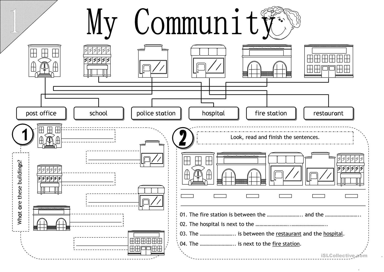 Second Grade social Studies Worksheet