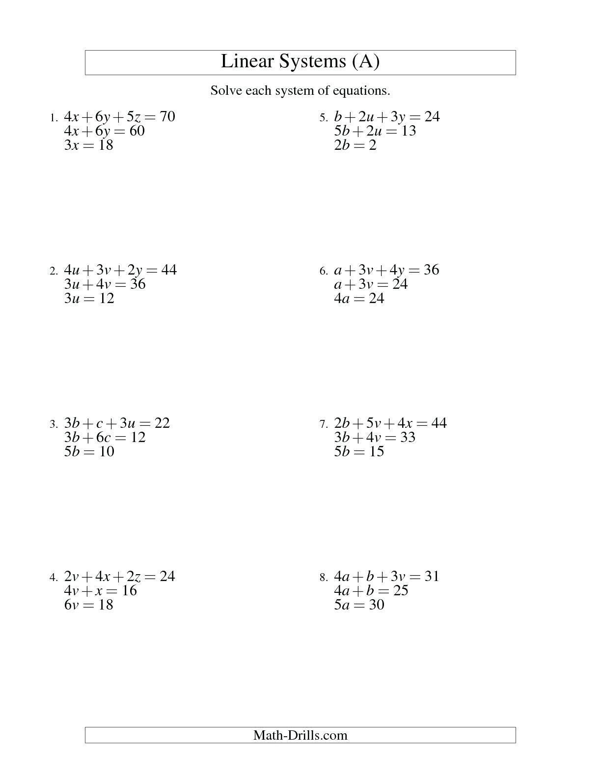Set Builder Notation Worksheet