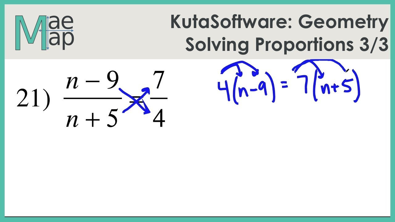 Solving Proportions Worksheet Answers