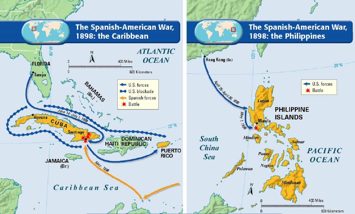 Spanish American War Worksheet
