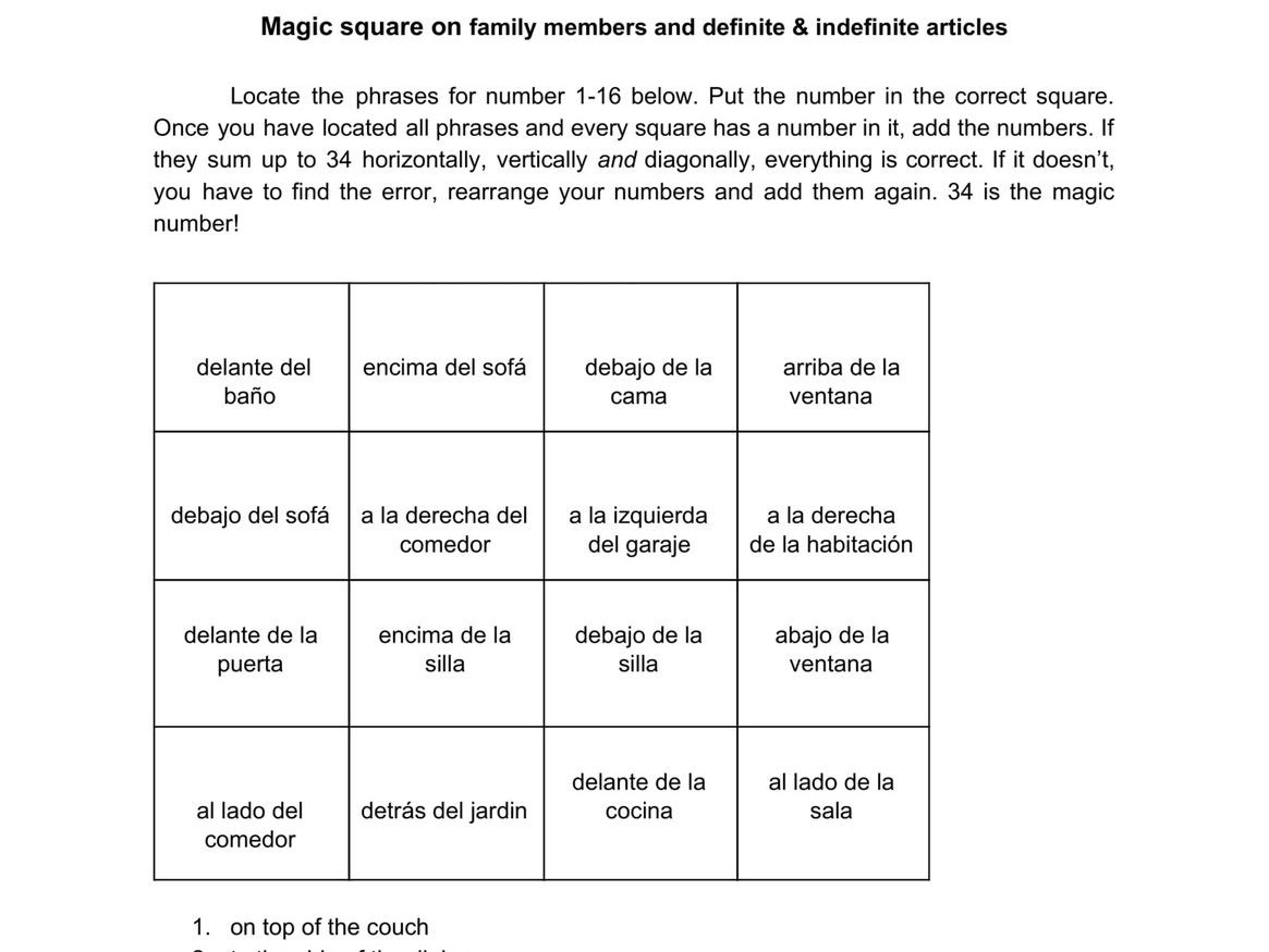 Stem Changing Verbs Worksheet Answers
