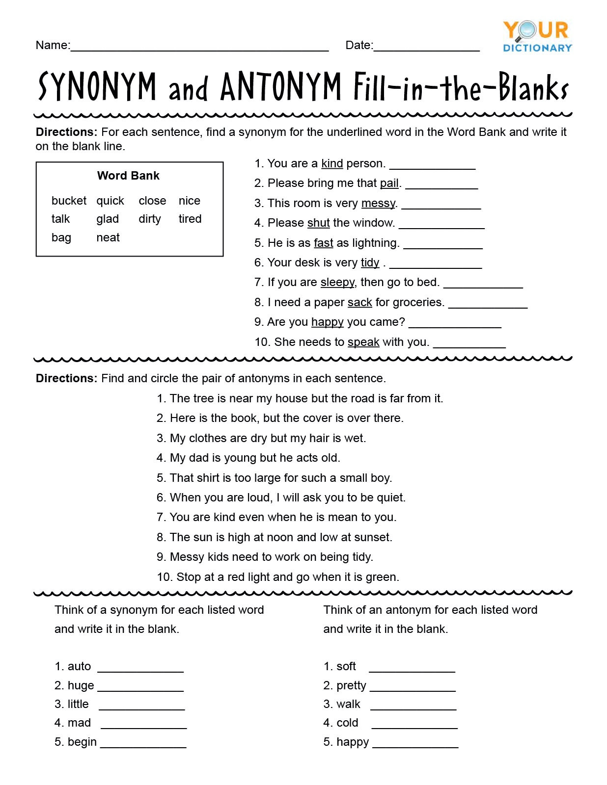 Text Features Worksheet Pdf