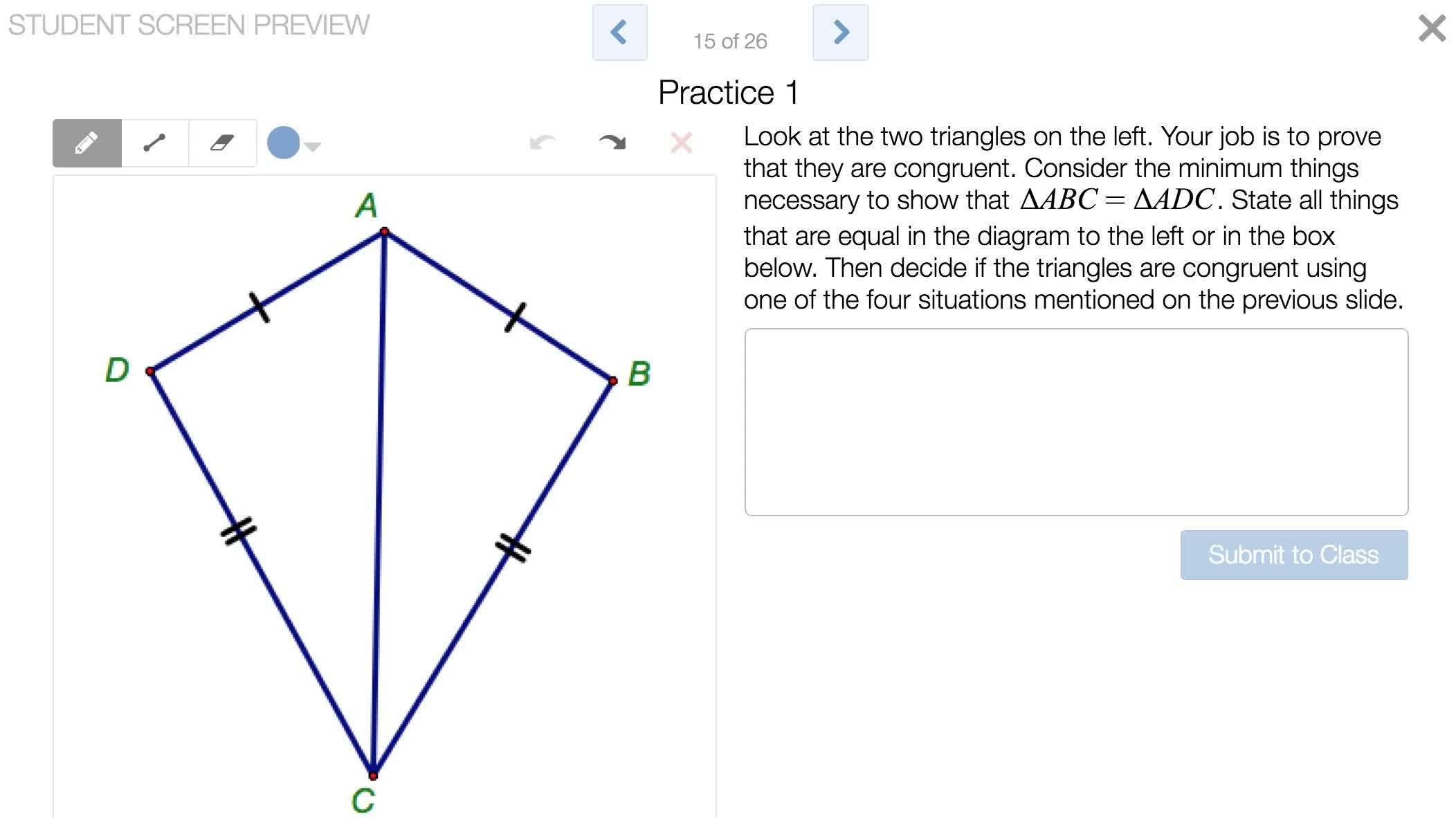 Triangle Congruence Proof Worksheet