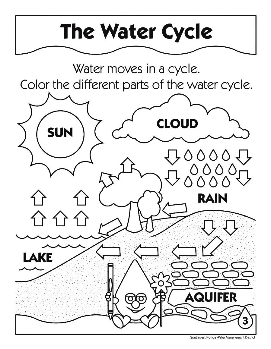 Water Cycle Worksheet Answer Key | Education Template